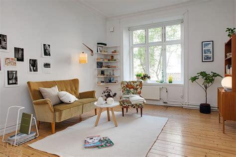 Decorando un monoambiente con muebles vintage