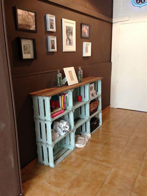 Decorando y Renovando | Cajas de fruta, Cajones de madera ...