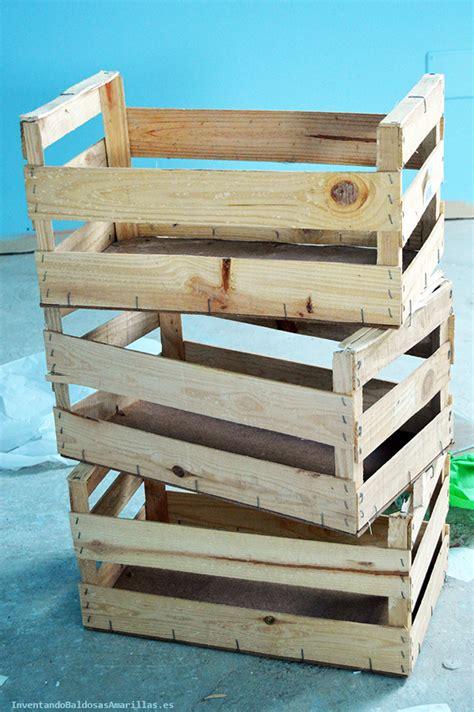 Decorar cajas de fruta de madera   HANDBOX