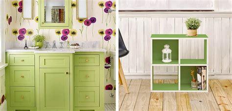 Decorar tu hogar con alegre color verde | Decoora