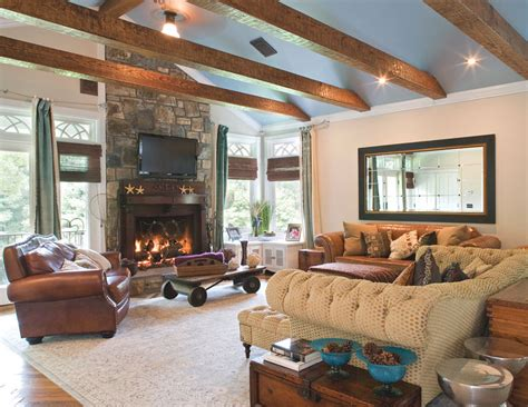 ¿Decorar tu salón con chimenea?   Rafael Decoración