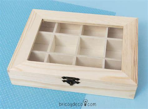 Decorar una caja de madera para guardar abalorios ...