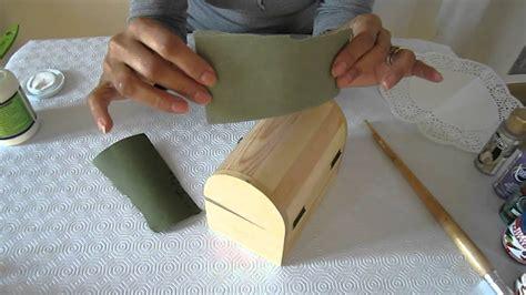 Decorar una caja de madera   YouTube
