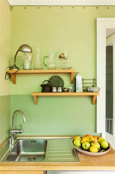 Decorar una cocina en color verde   Hogarmania