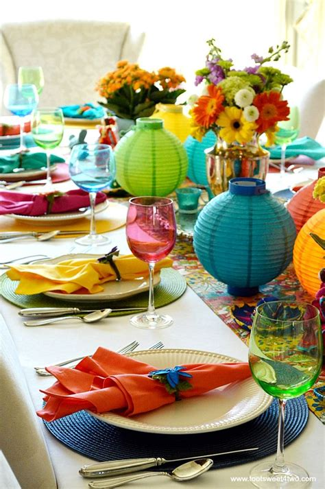 Decorating the Table for a Cinco de Mayo Celebration ...