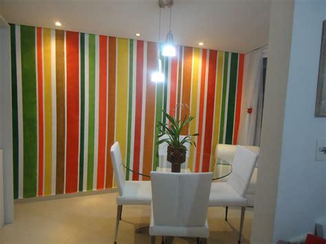 DECORTERAPIA: Pintura em faixas da minha parede da sala de ...