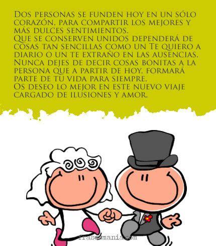 Dedicatoria para una boda. | Pensamientos para boda ...