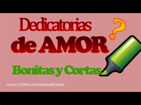 Dedicatorias de AMOR Bonitas y Cortas   Seleccion de ...
