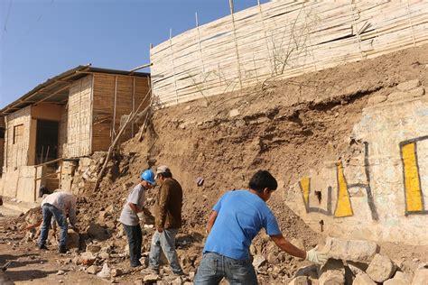 DEFENSA CIVIL REALIZA ACCIONES RÁPIDAS ANTE DERRUMBE DE ...