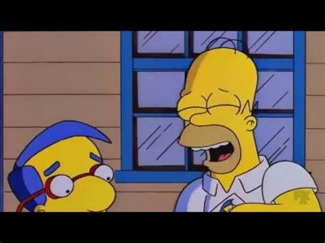 Defiéndete cuatro ojos   Simpsons Latino   YouTube
