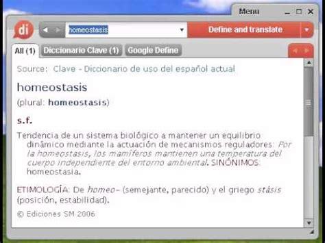 Definición de homeostasis   YouTube