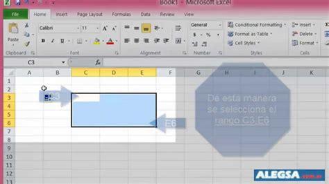 Definición de rango en Excel ¿qué es?   YouTube