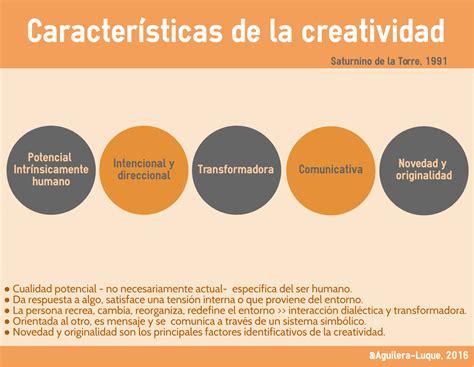 Definiendo la creatividad  características de la ...