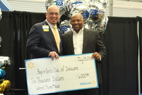 Delaware Boys and Girls Clubs get Walmart donation ...