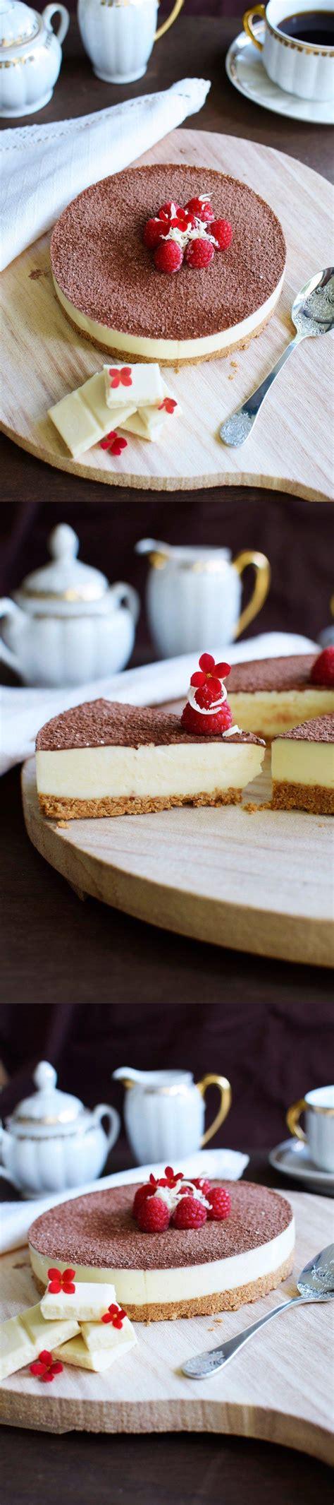 Deliciosa cheesecake de chocolate blanco | Comida ...