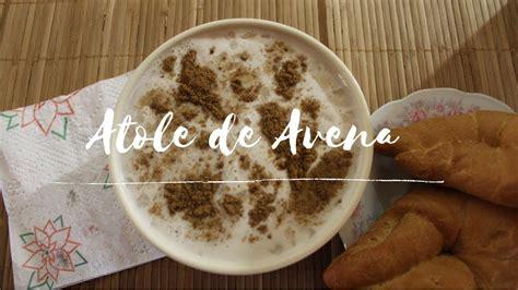 Delicioso Atole de Avena | Cocinando al día   YouTube