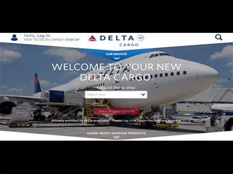 Delta Cargo Tracking,Delta Air Cargo Tracking Status   YouTube