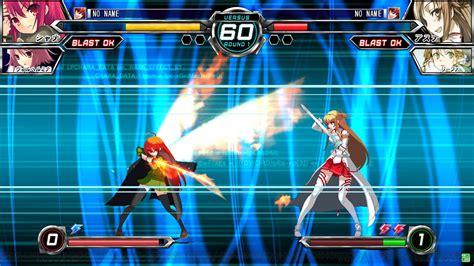 Dengeki Bunko Fighting Climax announced   Gematsu