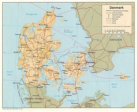 Denmark Maps   Perry Castañeda Map Collection   UT Library ...