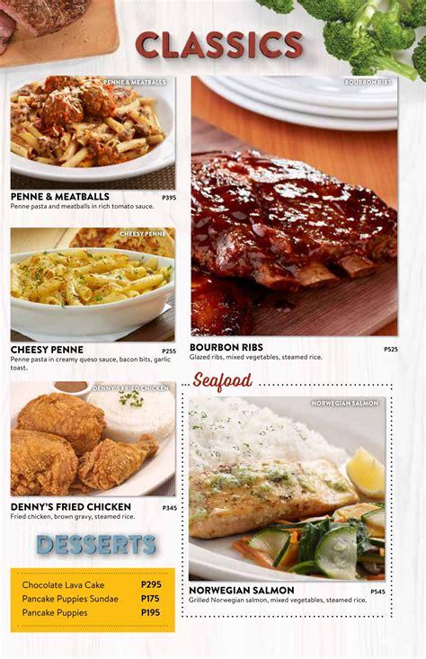 Denny s Diner Menu | ClickTheCity Food & Drink