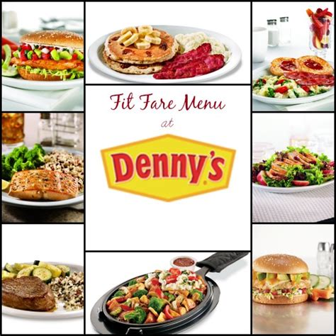 Denny s Fit Fare Menu #DennysDiners   Eat Move Make