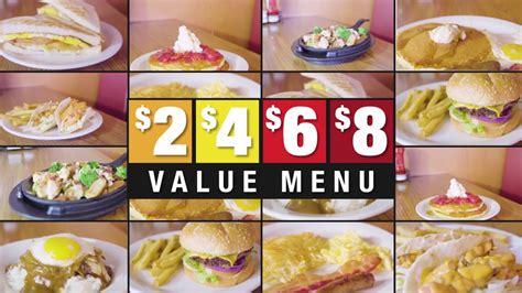 Denny s Guam $2, $4, $6, $8 Value Menu   YouTube