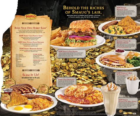 Denny s new Hobbit menu available from today! | Hobbit ...