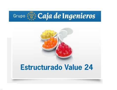 Depósito Estructurado Value 24 de Caja Ingenieros: 1,85 % ...
