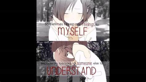 Depressing Anime quotes   YouTube