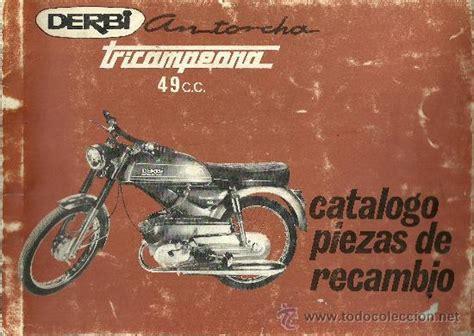Derbi catalogo de piezas de recambio antorcha t   Vendido ...