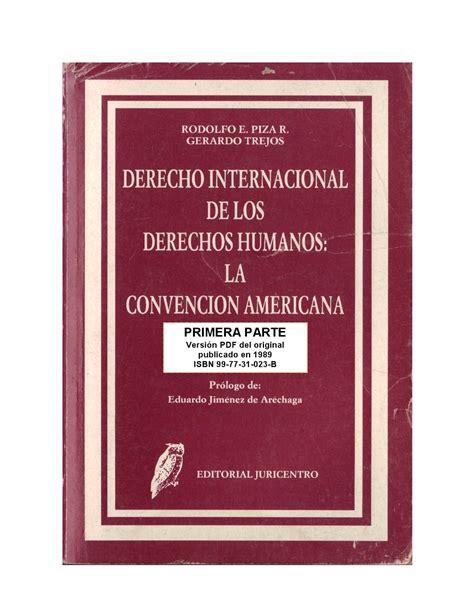 Derecho Internacional de los Derechos Humanos, Libro I by ...