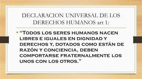 DERECHOS HUMANOS.   ppt video online descargar