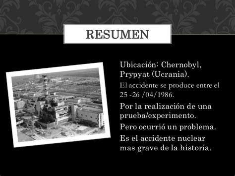 Desastre nuclear de chernobyl