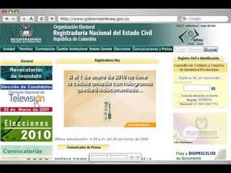 Descarga el certificado de vigencia de tu cédula por in ...