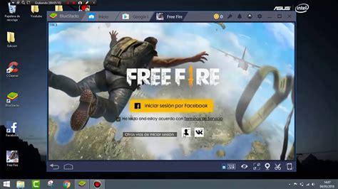 DESCARGA FREE FIRE BATTLEGROUND PARA PC | 2020   YouTube