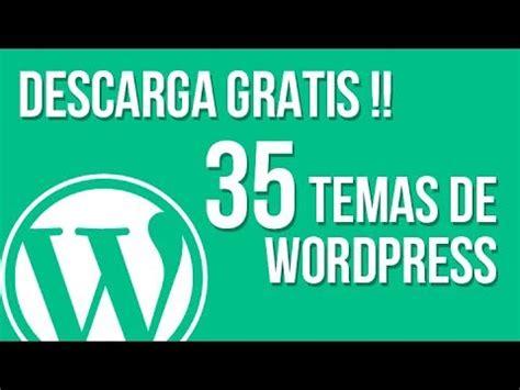 Descarga GRATIS 35 temas para Wordpress   Como descargar ...