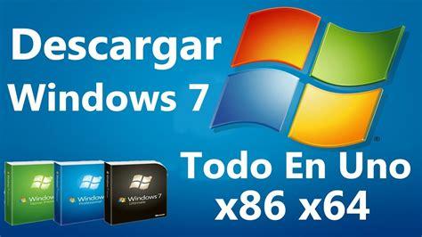 Descarga | Imagen ISO | Windows 7 Full Versiones | 32/64 ...
