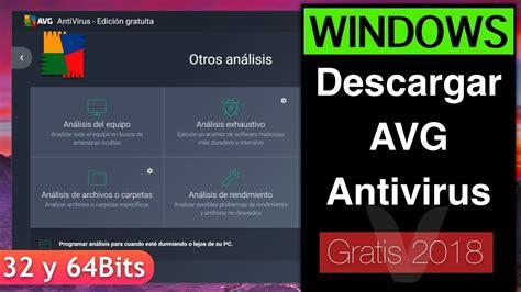 Descargar AVG Antivirus 2019 GRATIS | Windows 10, 8, 7 PC ...