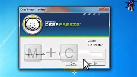 descargar e instalar deep freeze full en español para ...
