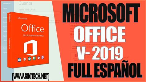 Descargar e Instalar Office 2019 Full Gratis En Español ...