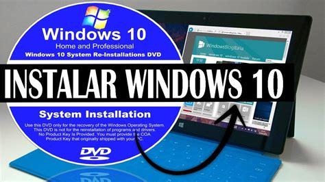 Descargar e Instalar Windows 10   32 y 64 Bits   Tutorial ...