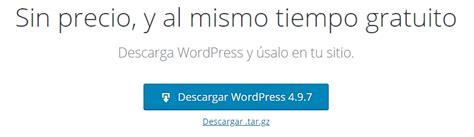 Descargar e instalar WordPress en tu hosting [Guía ...