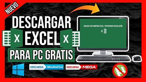 Descargar Excel GRATIS Para PC Windows 7, 8 y 10 en ...