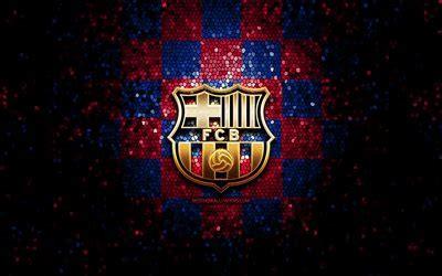 Descargar fondos de pantalla El FC Barcelona, el logotipo ...