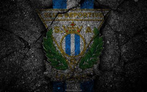 Descargar fondos de pantalla Leganés, el logotipo, el arte ...
