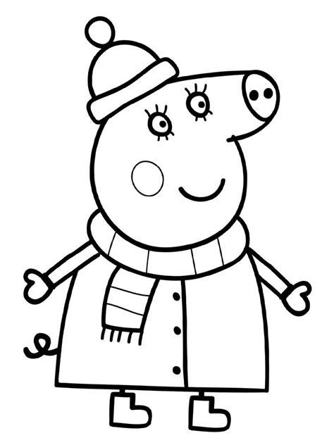 Descargar gratis dibujos para colorear   Peppa Pig ...