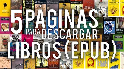 Descargar libros ePub GRATIS en español sin registrarse 磊