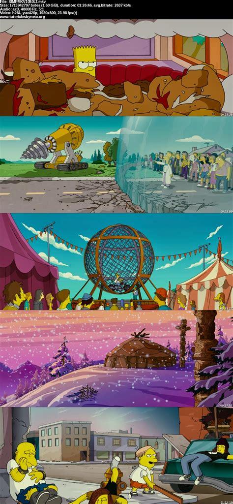 Descargar Los Simpsons la Película 1080p [HD Latino]