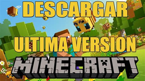 DESCARGAR MINECRAFT 2020 PARA PC   GRATIS Ultima Version ...