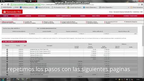 DESCARGAR MOVIMIENTOS DEL BANCO SANTANDER EN PDF   YouTube
